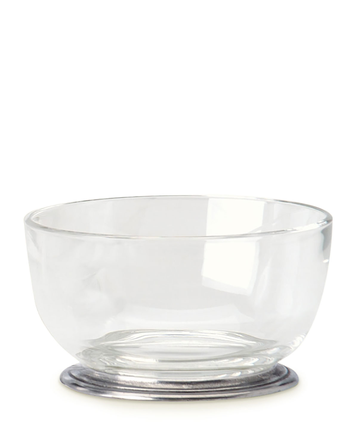 Match Round Crystal Bowl
