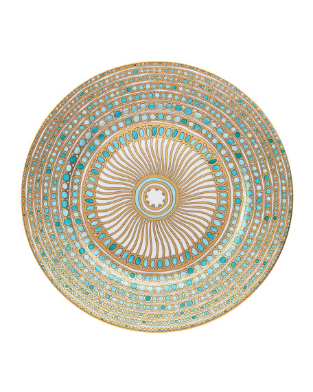 Syracuse Turquoise Charger Plate