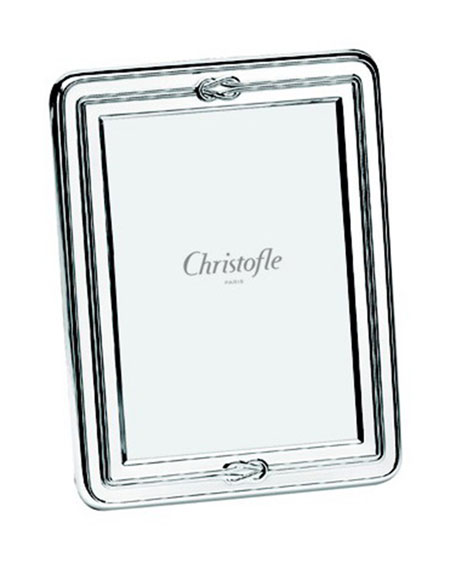 "Christofle Egea Knot 5"" x 7"" Picture Frame"