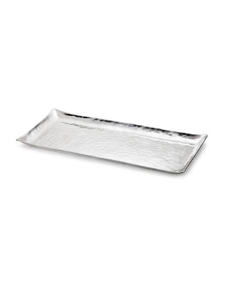 "Aurora Rectangular Tray, 7.5""W x 14""L"