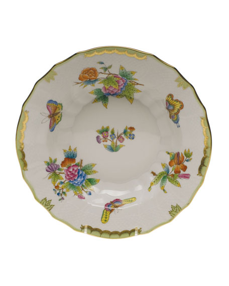 Queen Victoria Soup Bowl