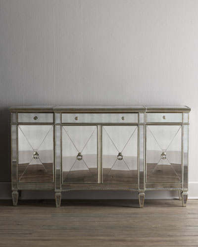 """Amelie"" Mirrored Buffet/Console"