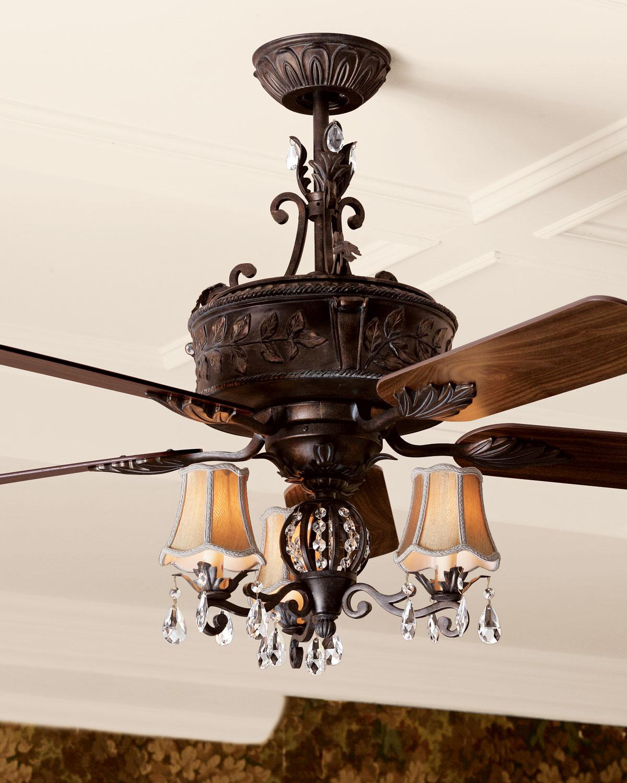Antoinette ceiling fan light kit matching items neiman marcus