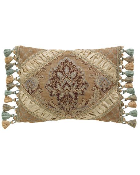 Dian Austin Couture Home Villa di Como Brocade Pillow