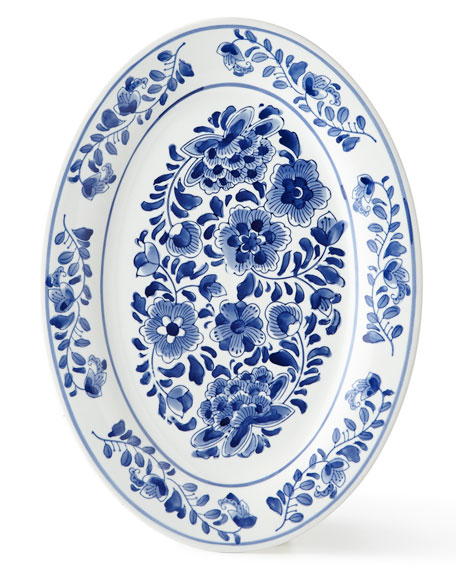 Neiman Marcus Traditional Oval Platter