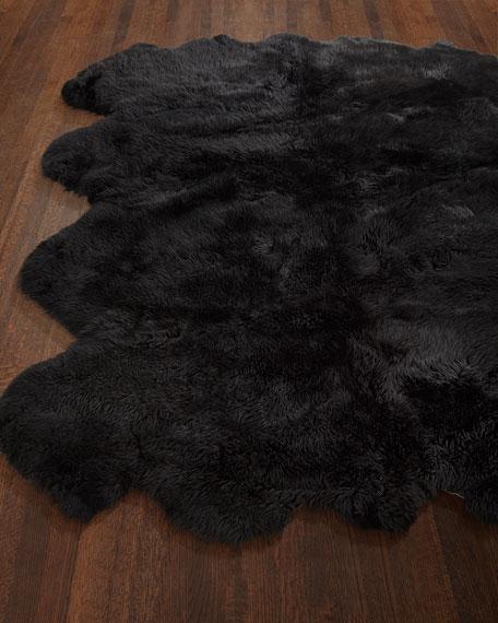 Sheepskin Rug, 6' x 7.5'