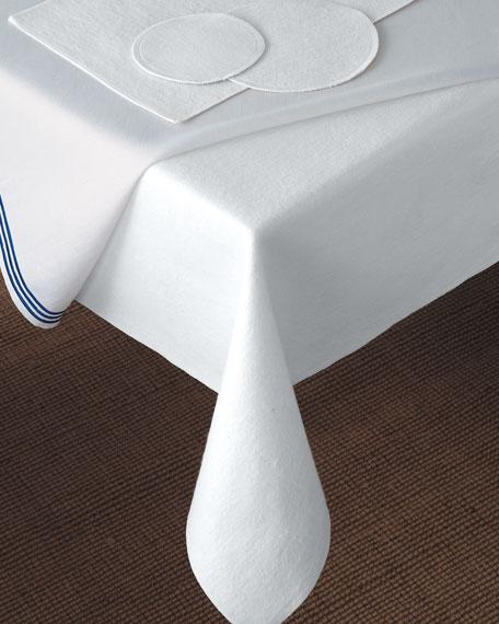 "Matouk 68"" Round Dining Table Pad"