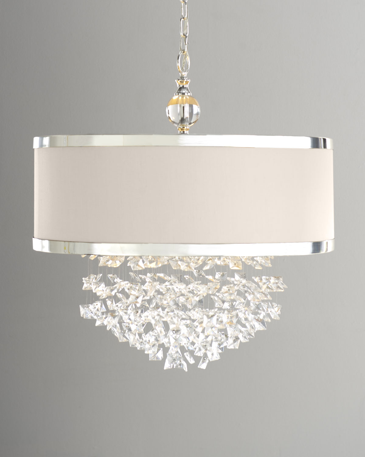 Neiman marcus lighting Semi Flush Neiman Marcus Bryanna 3light Chandelier Neiman Marcus