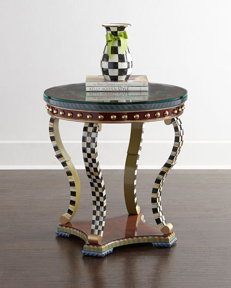 """Highland Thistle"" Accent Table"