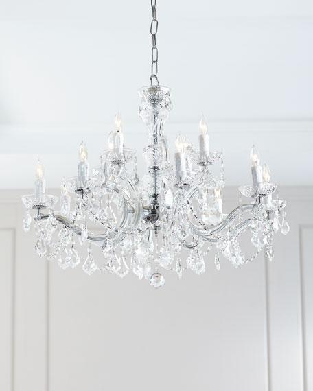 Crystorama Maria Theresa 12-Light Chandelier