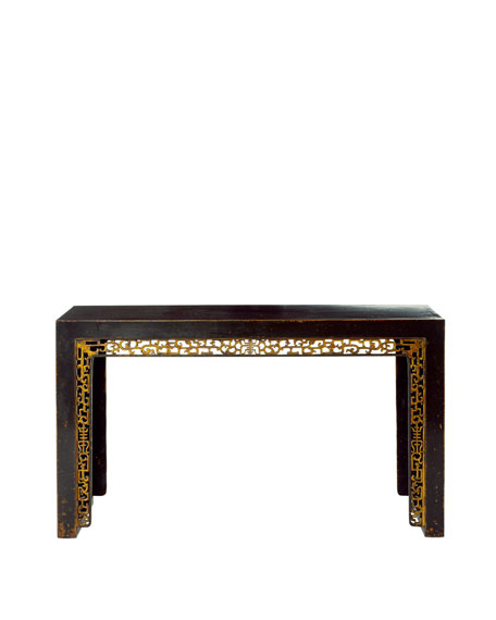 Antique Table with Gilt Carvings