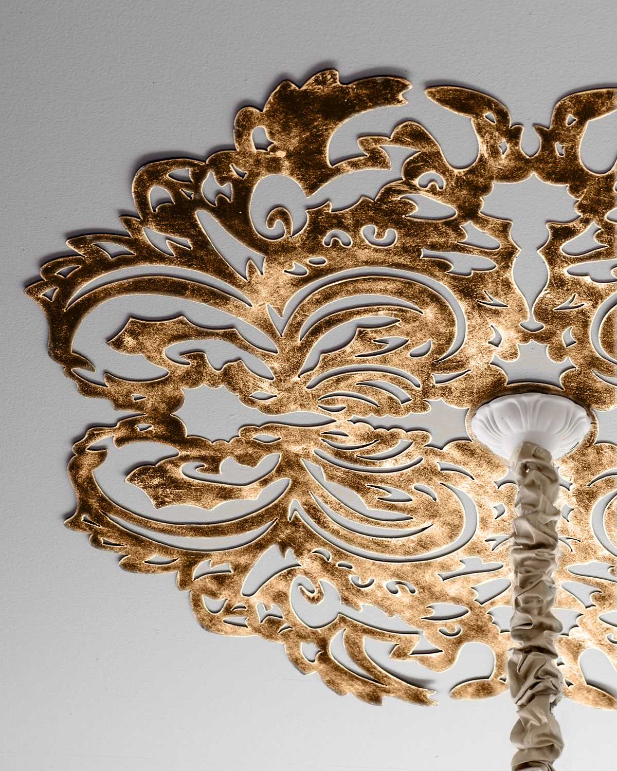 Lace Pattern Ceiling Medallion Neiman