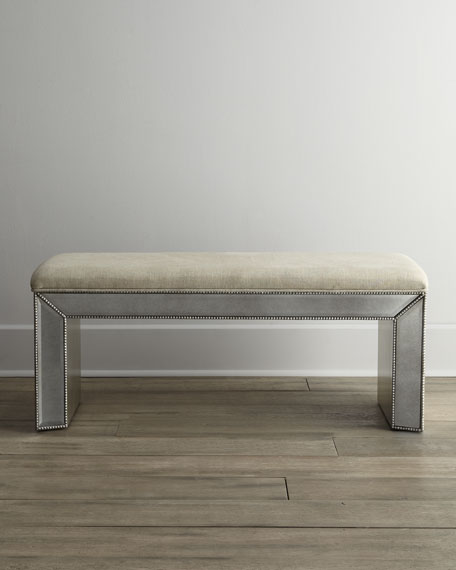 Shilo Mirrored Bench
