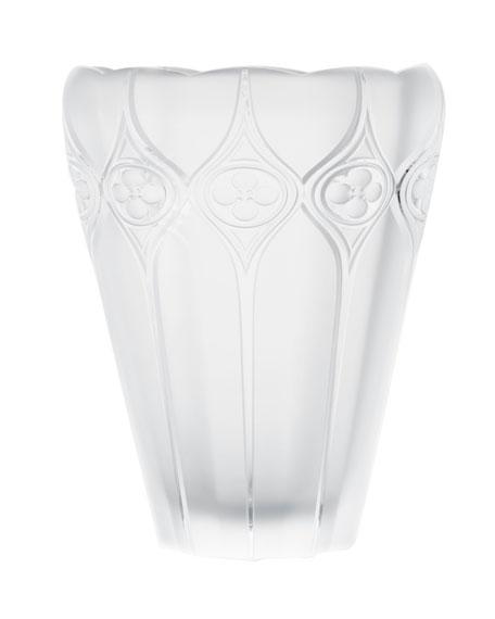 """Palazzo"" Crystal Vase"