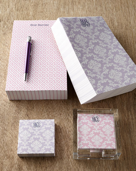 Personalized Chunky Notepad