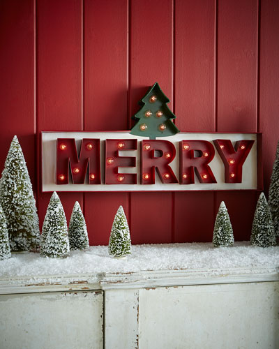 Merry Marquee Sign