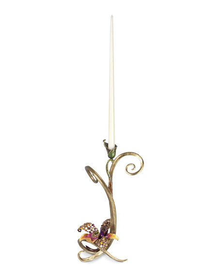 Mirabelle Orchid Single Candlestick
