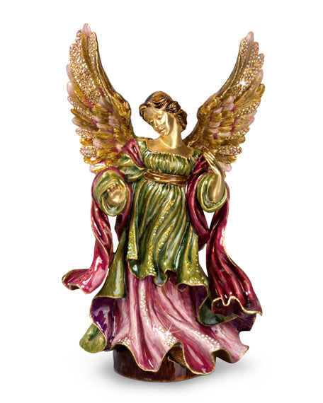 Jay Strongwater Adoring Angel Figurine