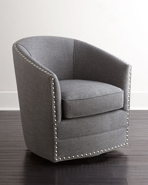 Terrific Accent Chairs Ottomans Benches At Neiman Marcus Caraccident5 Cool Chair Designs And Ideas Caraccident5Info