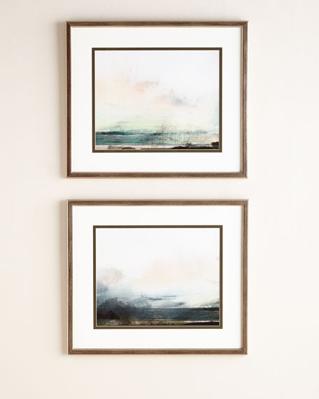"Two ""Pranava Sunrise"" Giclees"