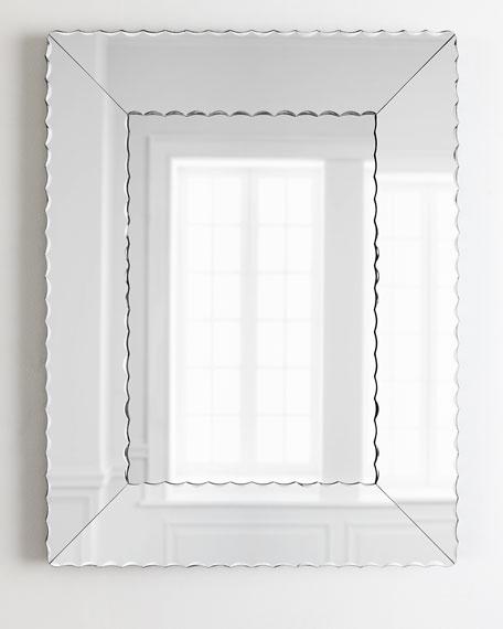 Scallops Large Mirror