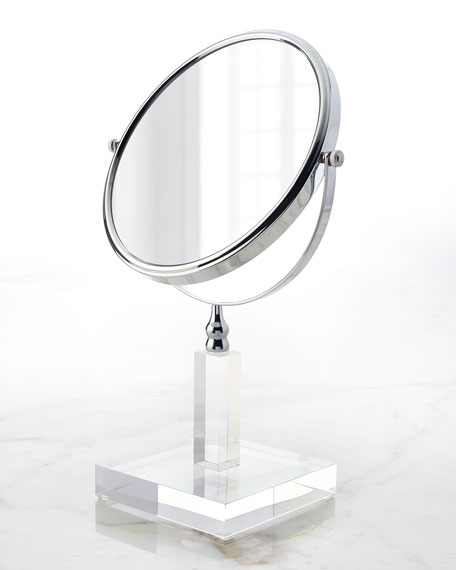 Mike & Ally Solid Ice 3X Magnifying Mirror