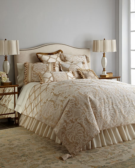 Sweet Dreams King Versailles Sham with Cording