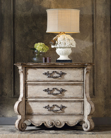 Estelline Three-Drawer Nightstand