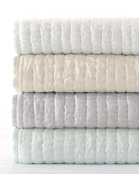 Standard Seta Quilted Silk Sham