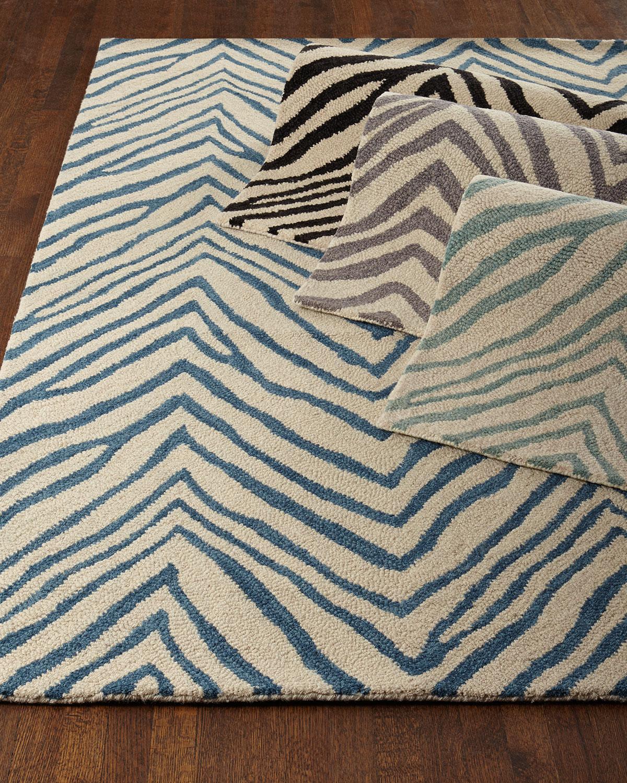 Mikki Zebra Print Rug