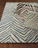 "Mikki Zebra-Print Runner, 2'6"" x 8'"