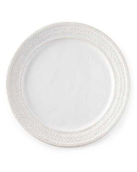 Juliska Le Panier Whitewash Charger Plate