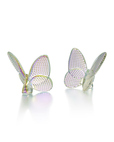 Baccarat Lucky Butterfly, Iridescent Diamante