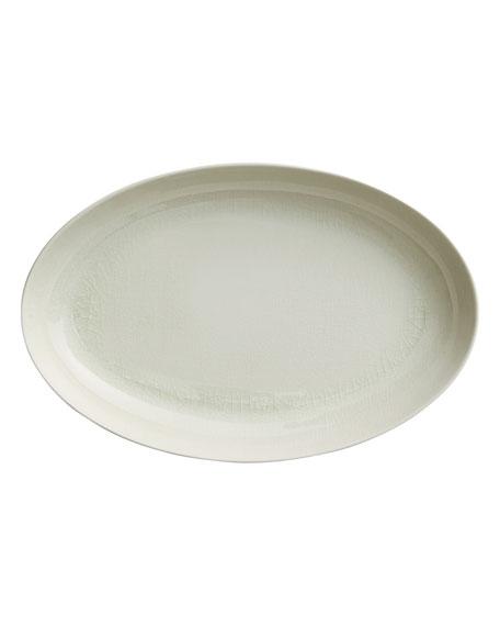 Opal Crackle Platter