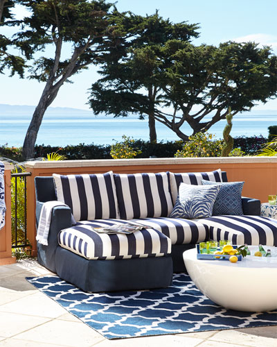 Douglas Outdoor Chaise Sectional