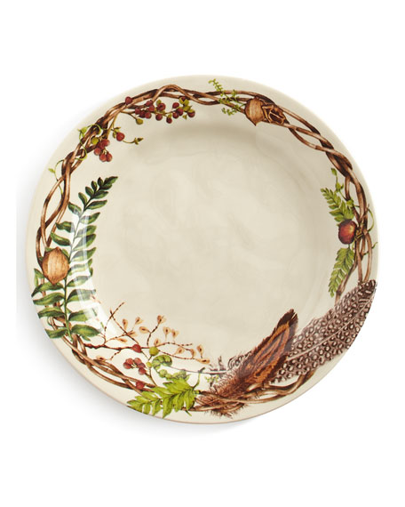 Image 1 of 2: Forest Walk Dinner Plate