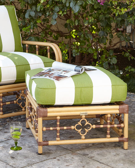 Lane Venture Mimi Outdoor Lounge Chair & Ottoman