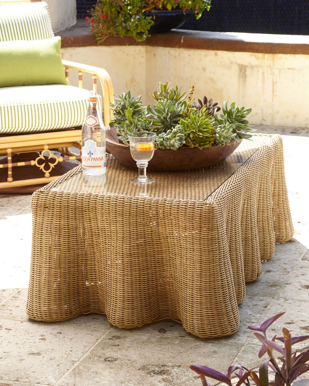 Lane Venture Mimi Outdoor Sofa U0026 Crespi Wave Tables U0026 Matching Items |  Neiman Marcus
