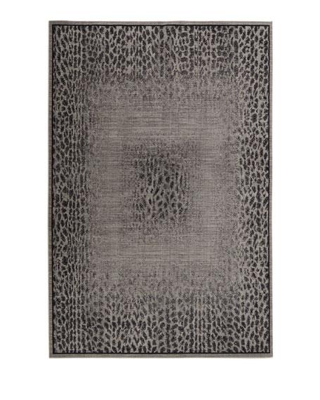 "Leonardo Animal Pattern Rug, 5'3"" x 7'5"""