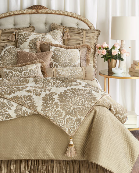 Austin Horn Collection Queen Vienna Quilted Coverlet