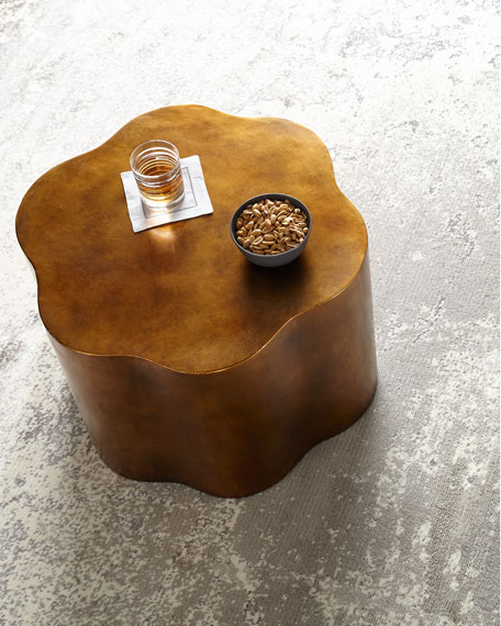 Image 2 of 3: Orla Copper Accent Table