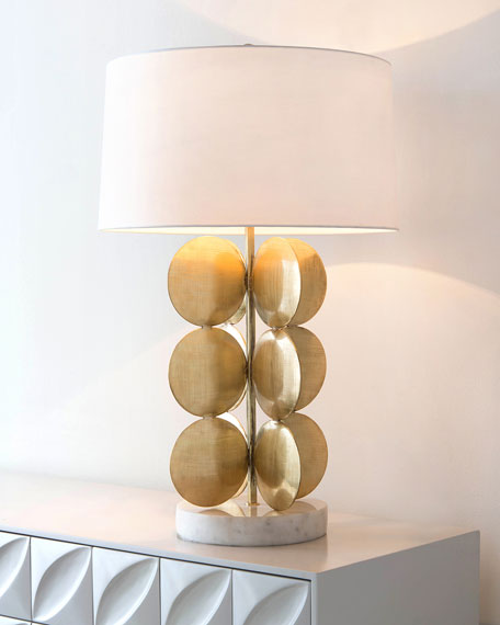 John-Richard Collection Around in Circles Table Lamp
