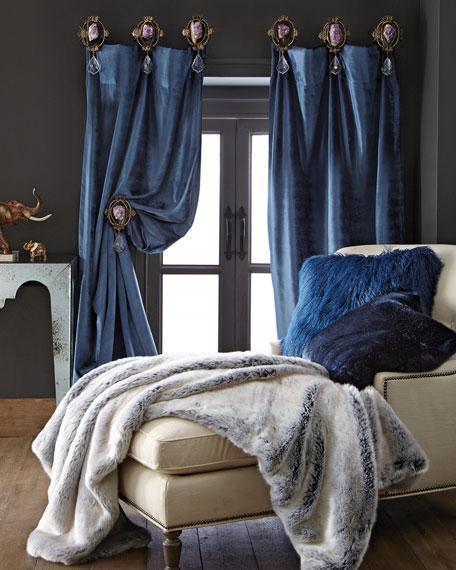 Misti Thomas Modern Luxuries Each Paris Geode Curtain Tieback