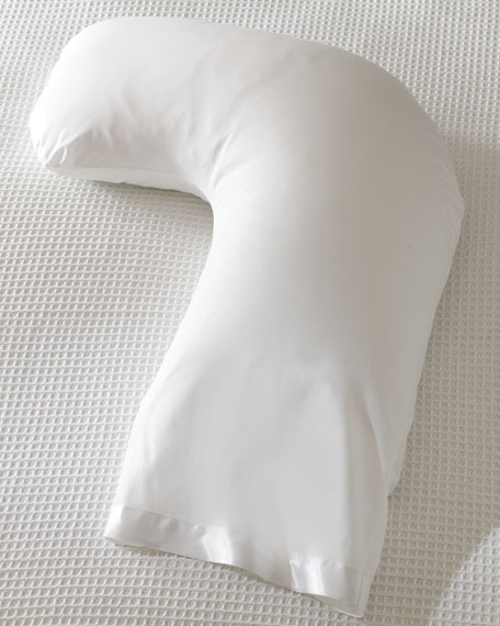 Side sleeper down pillow 1375quot x 45quot for Best down pillows for side sleepers