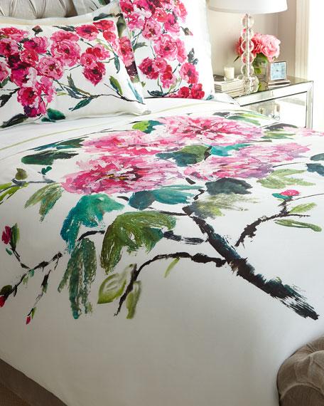 Queen Shanghai Garden Duvet Cover
