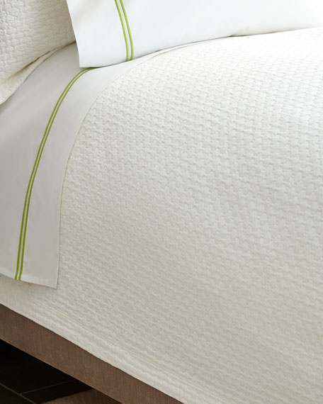 Peacock Alley Queen Juliet Coverlet