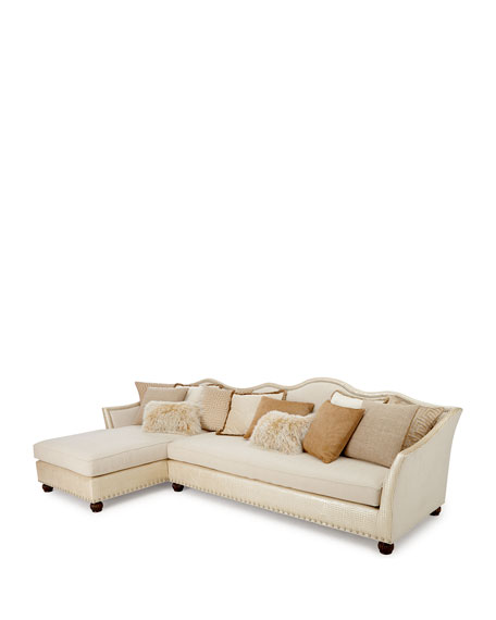 Regina Right-Chaise Sectional 146""