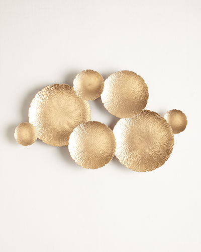 Ares Gold-Tone Wall Decor
