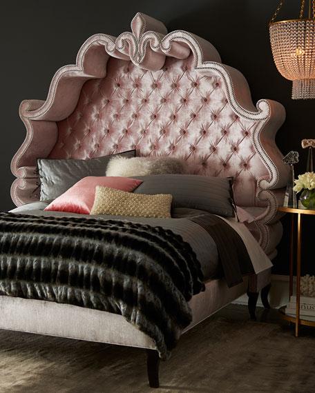 Haute House Maria Tufted California King Bed