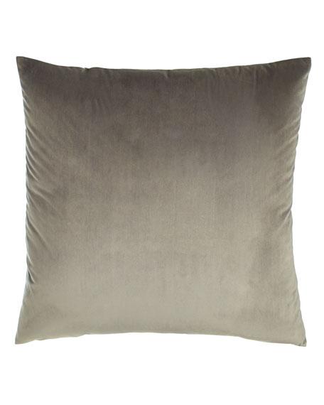 """Liberty Velvet Pillow, 22""""Sq."""